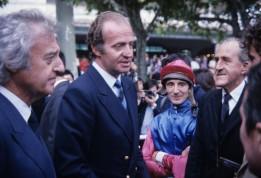 Ramón Mendoza y el rey Juan Carlos