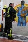 Incendio en el centro de Jaén